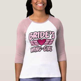 Bride's Wing-Girl Bachelorette Party Tee Shirt