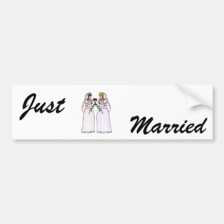 Brides with Roses Bumper Sticker