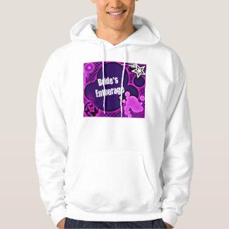 bridesentourage hooded sweatshirt