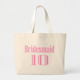 Bridesmaid 10 canvas bag