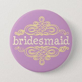 Bridesmaid 11 pinback button