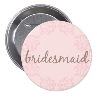 Bridesmaid 15 button