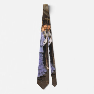Bridesmaid 1884 neck tie