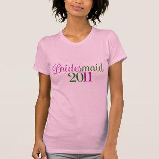 Bridesmaid 2011 tee shirt