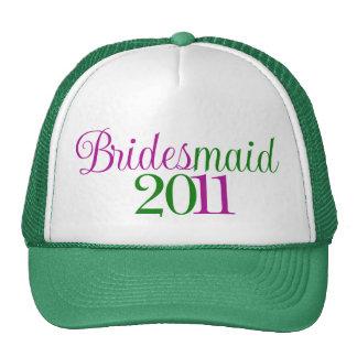 Bridesmaid 2011 trucker hat