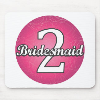 Bridesmaid #2 mouse pad