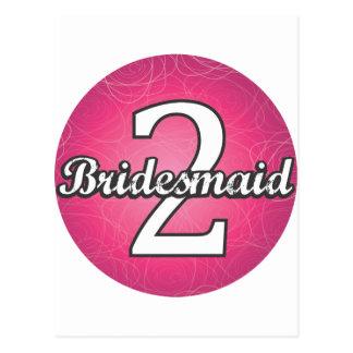 Bridesmaid #2 postcard