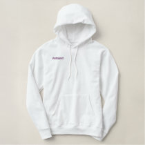 Bridesmaid Again Embroidered Hoodie