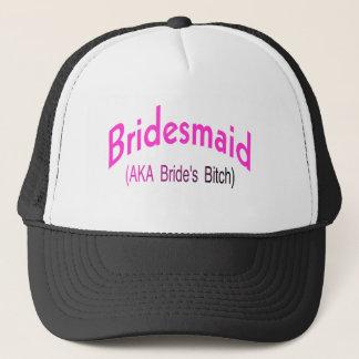 Bridesmaid  (AKA Pink) Trucker Hat