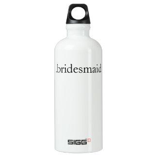 .bridesmaid aluminum water bottle