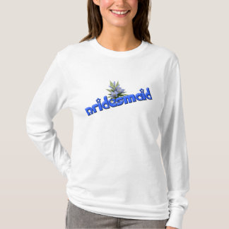 Bridesmaid And Flower Bouquet T Shirt