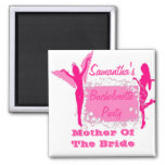 Bridesmaid bachelorette party 2 inch square magnet