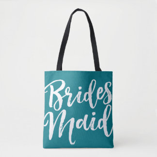 Bridesmaid Bag Custom Color All Over Tote
