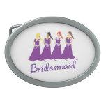Bridesmaid Belt Buckles