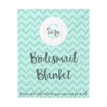 Bridesmaid Blanket