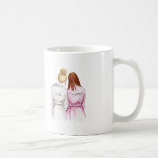 Bridesmaid? Blonde Bun Bride Redhead Maid Coffee Mug