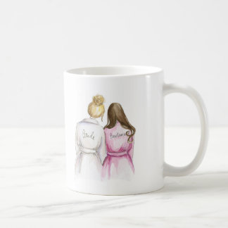 Bridesmaid? Br Bun Bride Br Long Maid Classic White Coffee Mug