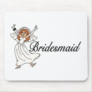 Bridesmaid Bride Mouse Pad