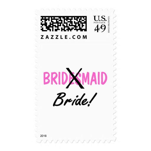 Bridesmaid Bride Stamps