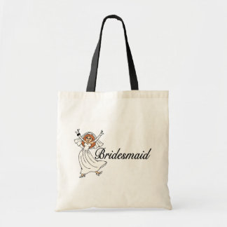Bridesmaid Bride Tote Bag