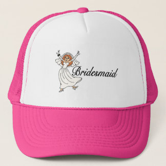 Bridesmaid (Bride) Trucker Hat
