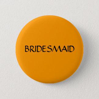 BRIDESMAID - button