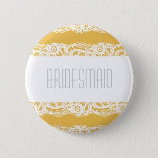 Bridesmaid Button - Choose your own color!