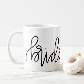 Bridesmaid Calligraphy Mug