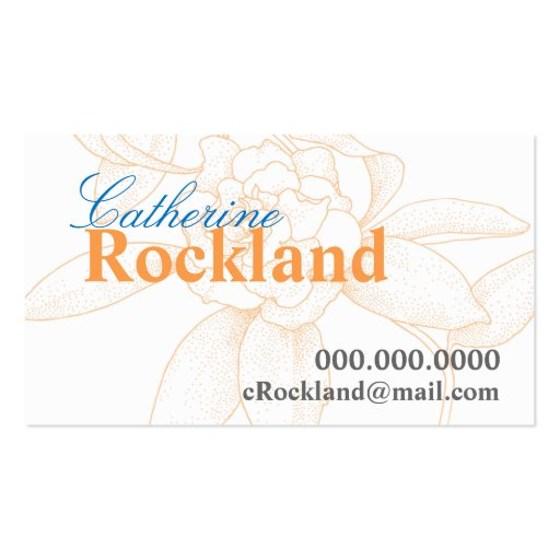 Bridesmaid Calling Card Gifts Business Card Template