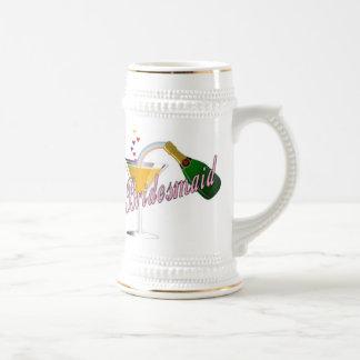 Bridesmaid Champagne Toast Beer Stein