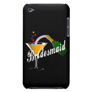 Bridesmaid Champagne Toast iPod Touch Cases
