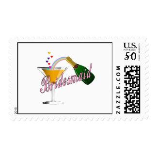 Bridesmaid Champagne Toast Postage
