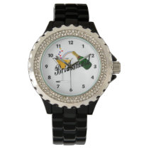 Bridesmaid Champagne Toast Wristwatch