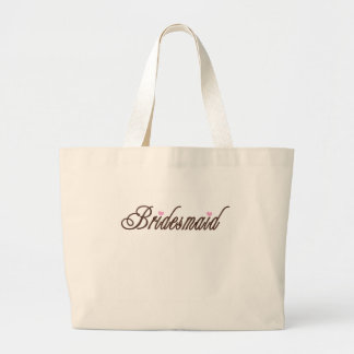 Bridesmaid Classy Browns Tote Bags