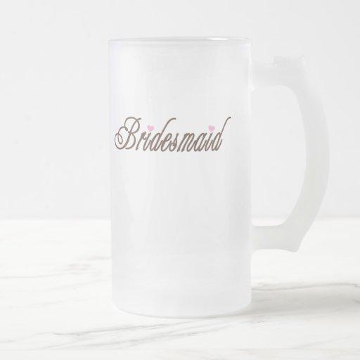 Bridesmaid Classy Browns Coffee Mug