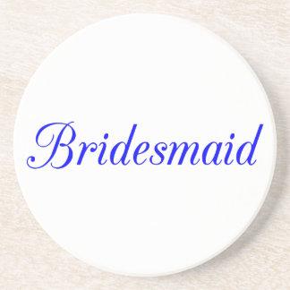 Bridesmaid Beverage Coasters
