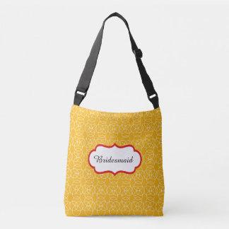 Bridesmaid Crossbody Bag Yellow
