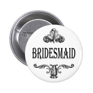 bridesmaid customizable color button