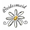 Bridesmaid Daisy Flower shirt