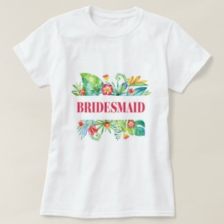 Bridesmaid Destination Beach Destination Wedding T-Shirt