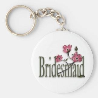 Bridesmaid/ Dogwood Wedding Key Chains
