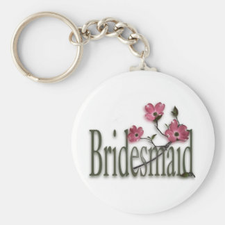 Bridesmaid/ Dogwood Wedding Keychain