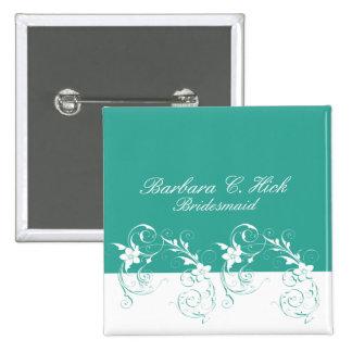 Bridesmaid Elegant wedding Pin