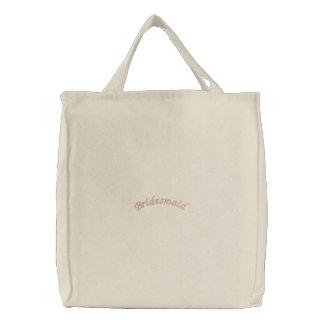 Bridesmaid- embroidered bag