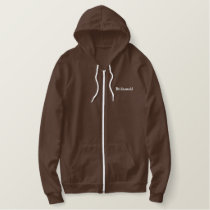 Bridesmaid Embroidered Hoodie