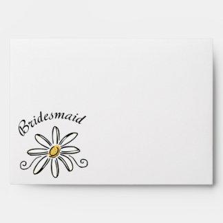 Bridesmaid Envelope