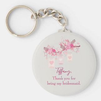 Bridesmaid Favor Gift Keychain