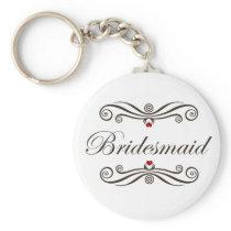 Bridesmaid Favors Keychain