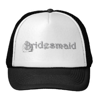 ♥ Bridesmaid  ♥Fun for Bachlorette Party, Shower♥ Mesh Hats