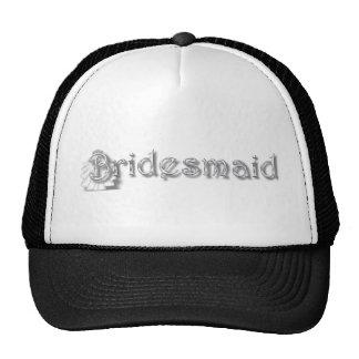 ♥ Bridesmaid  ♥Fun for Bachlorette Party, Shower♥ Mesh Hats